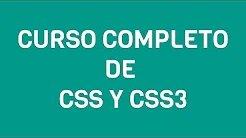 Curso de CSS- CSS 3