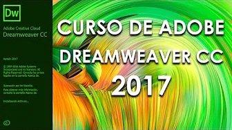 Curso de Dreamweaver 2017