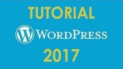 Tutorial de WordPress 2017