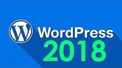 Curso de WordPress 2018