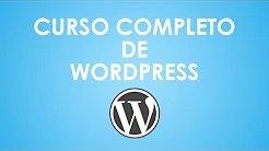Curso de WordPress completo