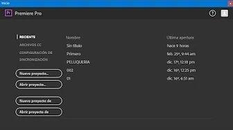 Tutorial- Adobe premiere pro
