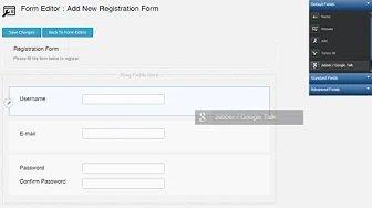 Tutorial- Formulario de registro WordPress