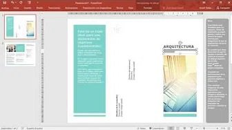 Tutorial- Triptico con powerpoint