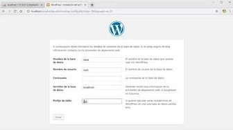 Tutorial- Cómo instalar wordpress
