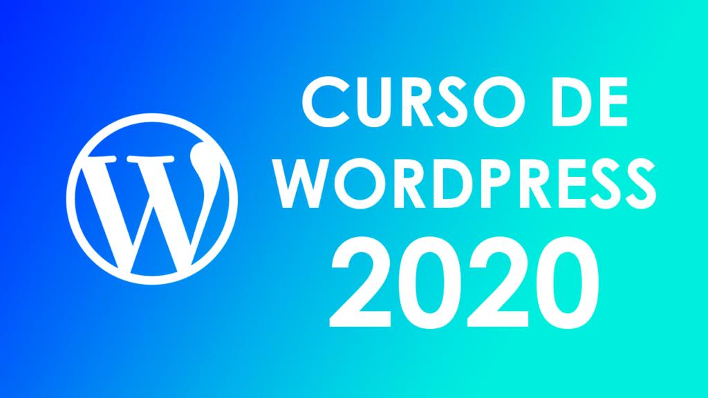 Curso de Wordpress 2020